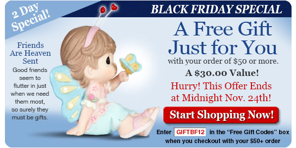 Black Friday Special - Free $30 Figurine with $50 Order